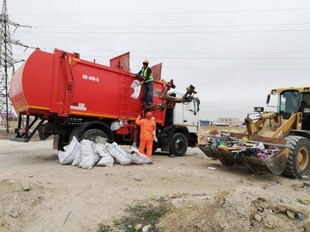 Чиновники собрали 30 тонн мусора в поселке Приозерный