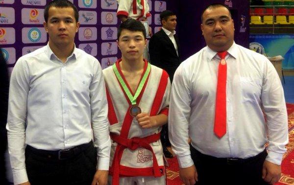 Мангистауские борцы стали бронзовыми призерами чемпионата Казахстана