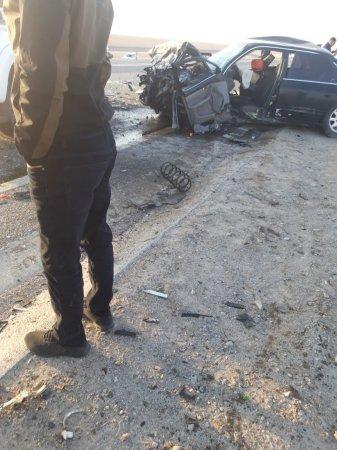 Авария в Мангистау: Два человека погибли и девять пострадали