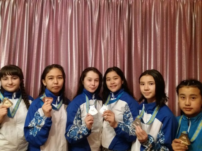 Спортсменки из Актау завоевали шесть медалей на республиканском турнире