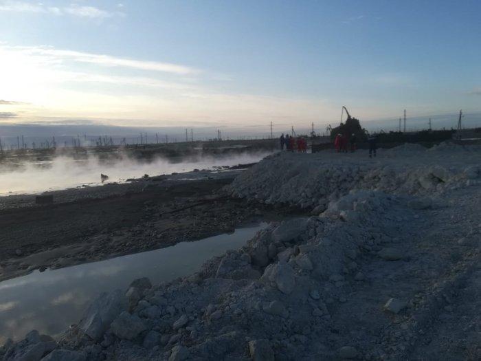 Пожар на месторождении Каламкас ликвидирован