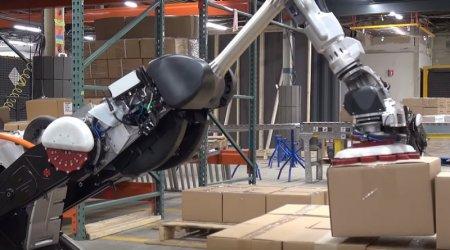 Робот-грузчик от Boston Dynamics