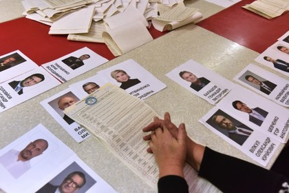 Подсчитаны первые предварительные результаты выборов президента Украины