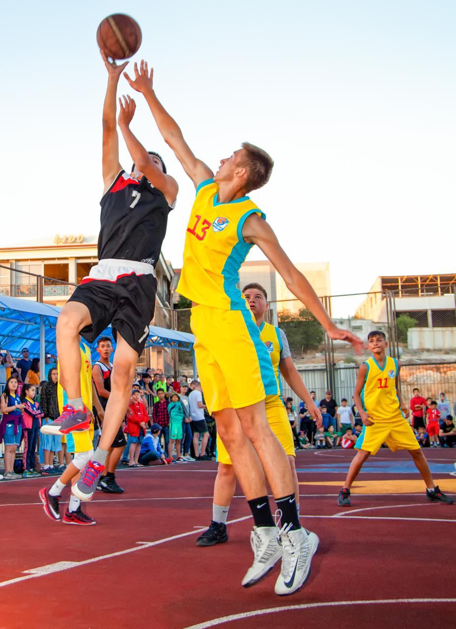 В Мангистау пройдет финал 11 сезона школьной баскетбольной лиги