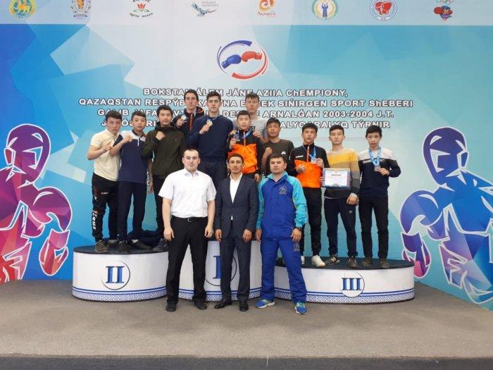 Боксеры из Мангистау завоевали шесть медалей на международном турнире