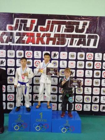 Джитсеры из Актау привезли восемь медалей с чемпионата Казахстана