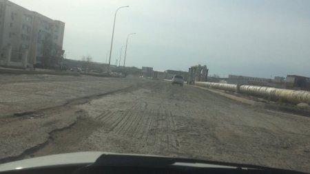 Дороги Актау 22 мкр