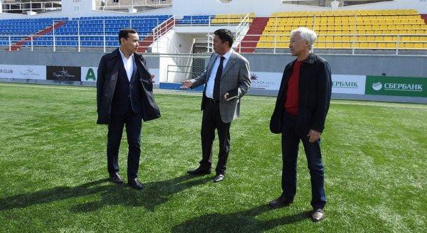 Олжас Абраев: Футбольному клубу «Каспий» необходима новая спортивная арена
