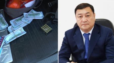Машина с долларами принадлежит сыну экс-акима Талдыкоргана - проверяющие