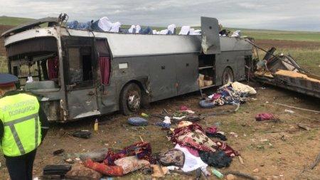 В ДТП в Жамбылской области погибли 11 человек