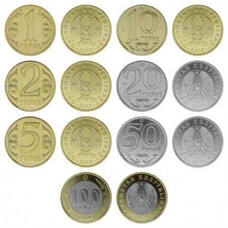 На монетах тенге изменили надписи