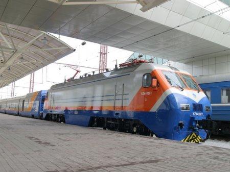 Дополнительные поезда будут пущены на майские праздники в Казахстане