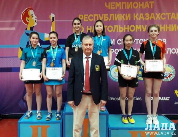 Актауская теннисистка стала серебряной медалисткой на чемпионате Казахстана
