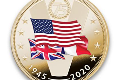 В США выпустили монету с союзниками во Второй мировой войне без СССР