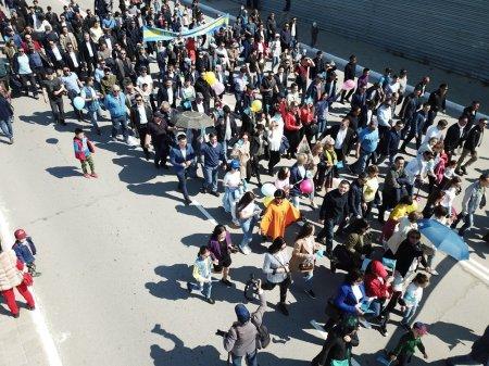 Шествие в честь Дня единства народа Казахстана прошло в Актау