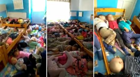 Видео со спящими по четверо детсадовцами обсуждают в Казнете