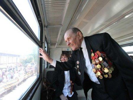 Год бесплатно ездить в поездах смогут ветераны войны и труженики тыла