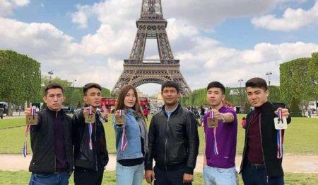 Мангистауские джитсеры покорили Париж