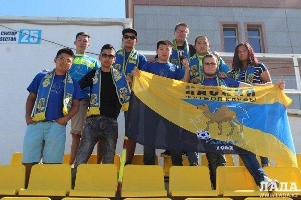 Футбольный клуб «Каспий» обратился к болельщикам