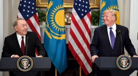 """""""Приветствую ваше решение"""" - Трамп отправил письмо Назарбаеву"""