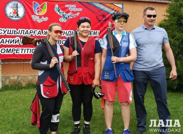 Ольга Сабельникова из Актау стала призером сразу трех соревнований