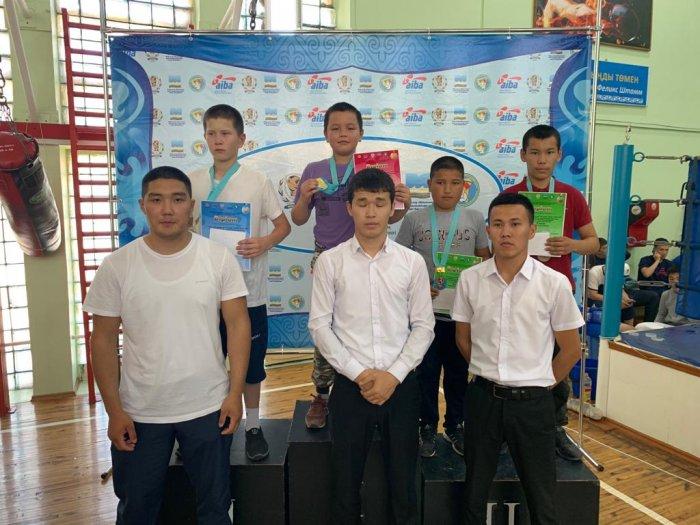 В Актау определили победителей турнира Мангистауской области по боксу среди младших юношей