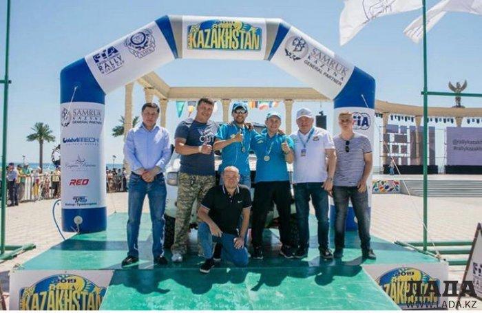 Актауский экипаж занял третье место в классе Т2 на «Ралли Казахстан-2019»
