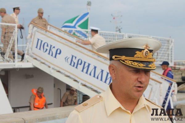 Гроза браконьеров: пограничный сторожевой корабль «Бриллиант» из Махачкалы прибыл в Актау