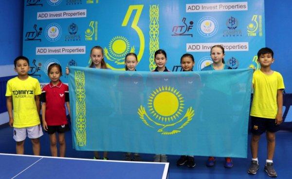 Мангистауские теннисисты вошли в ТОП-8 страны