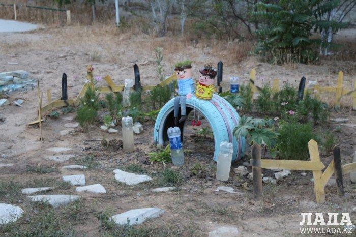 Полив по факту: Исполнение графика полива в Актау 13 июня