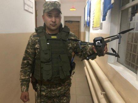 Владельца дрона, летавшего над парком боевых машин, задержали в Актобе