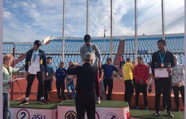 Актауский легкоатлет установил новый рекорд Казахстана