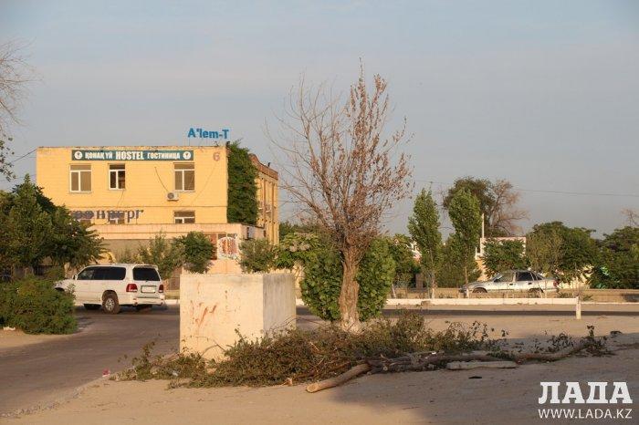 Полив по факту: Исполнение графика в Актау 17 июня