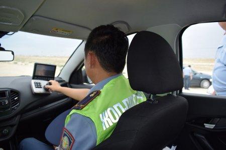 В Мангистау патрульные машины оснастили электронными камерами для фиксации нарушений