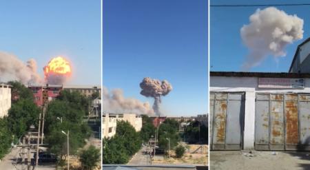 Взрывы в Арыси: Погибли 3 человека