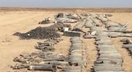 Видео с собранными в Арыси боеприпасами появилось в Сети