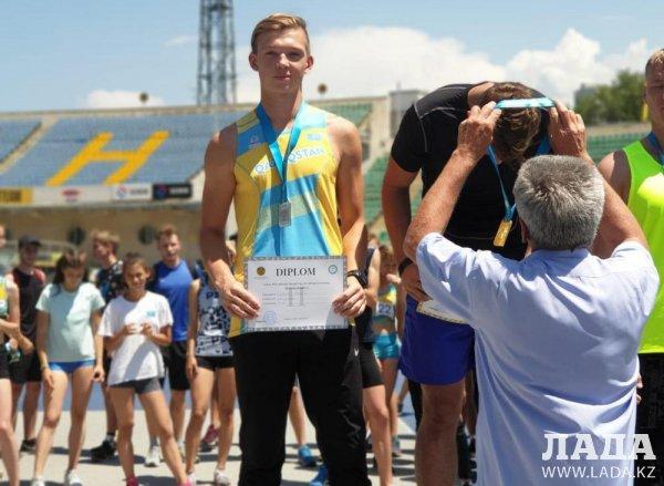 Актауские легкоатлеты стали призерами двух чемпионатов страны