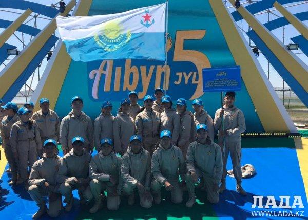Юные патриоты из Актау участвовали в республиканском военно-патриотическом сборе «Айбын-2019»