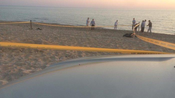 Скелет человека обнаружен на побережье в пригороде Актау