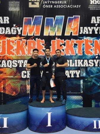 Пять миксфайтеров из Мангистау прошли отбор на чемпионат мира в Риме