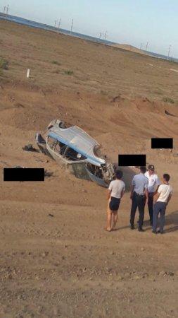 Появились фото с места смертельного ДТП с полицейскими