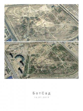 Эколог опубликовал изменения зеленого полотна в Актау за 17 лет