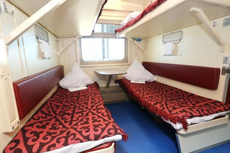 Новые вагоны вышли в рейс по маршруту Алматы-Мангистау