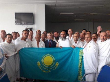 Первые казахстанские паломники прибыли на хадж