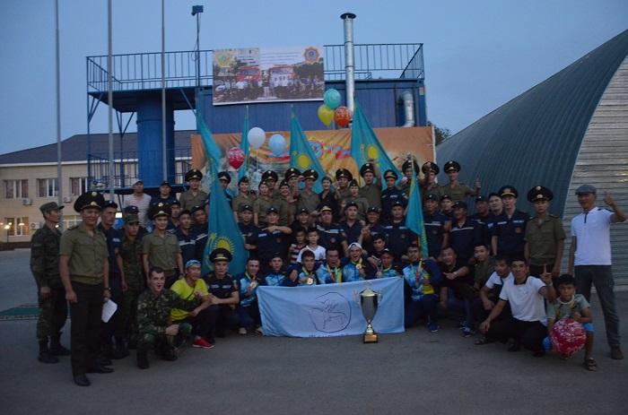 Спасатели из Мангистау одержали победу на чемпионате РК по пожарно-спасательному спорту