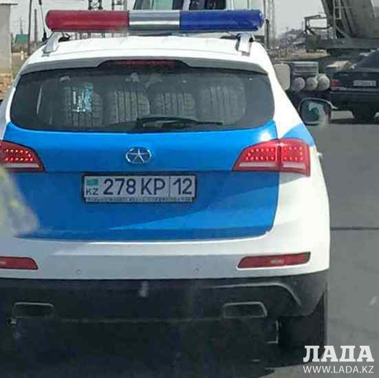 Реакция полиции после замечания Руслана Жанпеисова