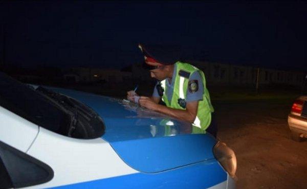 За четыре дня полицейские наложили свыше 300 тысяч тенге штрафов  на водителей Мангистау