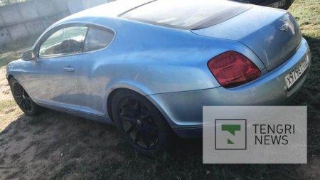 Как выглядит Bentley, брошенный возле аула