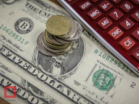 Курс доллара составил 387,4 тенге на KASE