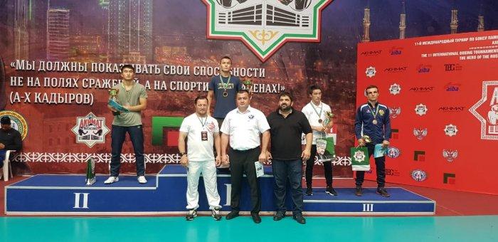 Боксёры из Мангистау завоевали шесть медалей на турнире в Чечне
